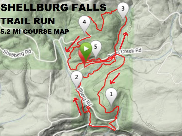 Lyons Oregon Map.Race Preview 2018 Shellburg Falls Trail Run Lyons Run Oregon